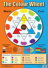 Chrysalis: The Colour Wheel A3 Poster; Educational, Teaching, Lesson Plan