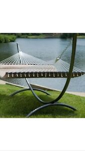 Heavy Duty Metal Arc Hammock Stand Powder Coated Roman