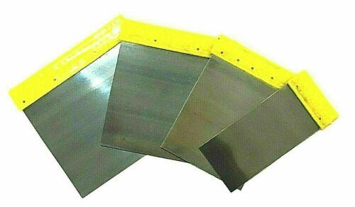 Remplissage Couteaux Set 4 pcs METAL-Grattoir de remplissage de plâtre plaque de plâtre décorer