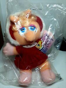 Baby-Miss-Piggy-Plush-Doll-McDonald-039-s-1988-Jim-Henson-039-s-Muppets-9in-New