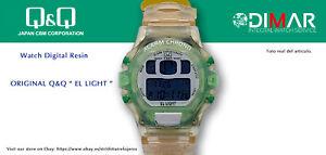 Vintage Watch Q&Q The Light. 9906, Wr 5m. Lap Memory 10