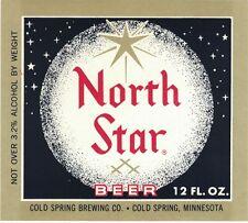 North Star Beer Label