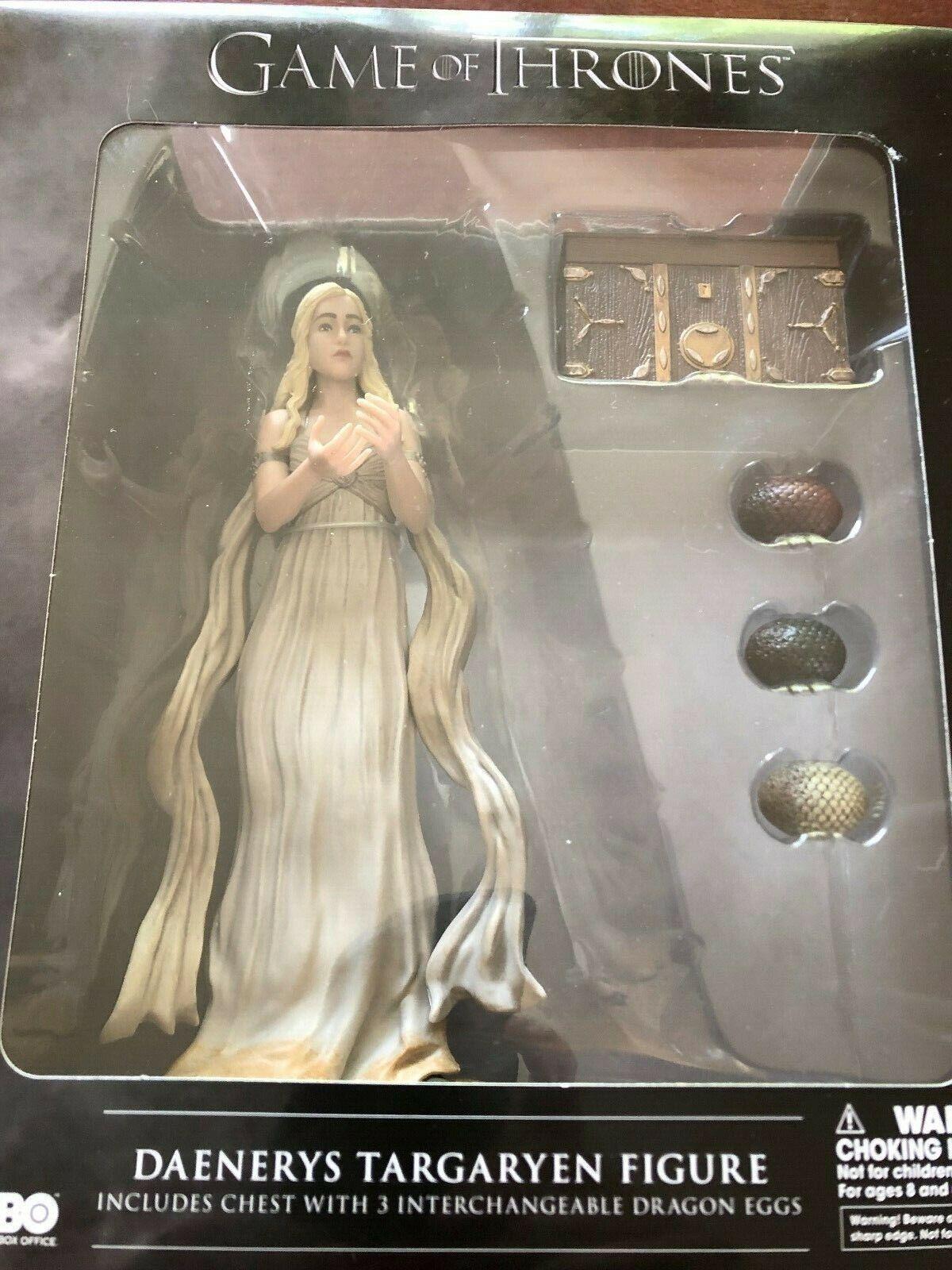 Dark Horse Deluxe Juego of Thrones  daenarys.. la figura.. caja nunca abrió
