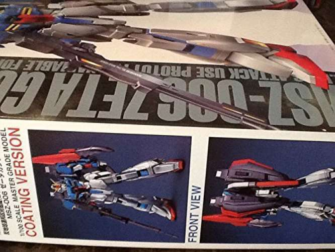 MG 1  100 MSZ –006 Zeta Gundam Coated Version (bilene Suit Z Gundam) Gunpla F  S