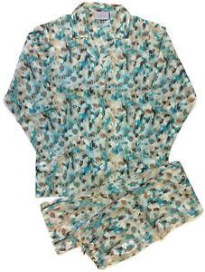 Allison-Rhea-Tan-Teal-Leopard-Pajamas-for-Women-100-Cotton