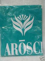 Revlon Arosci Vinyl Styling / Shampoo Cape (blue Green Color With White Logo)