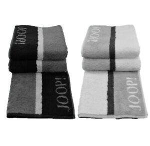 attraktiv und langlebig Sortendesign elegante Form Details zu Joop! Handtücher Handtuch schwarz silber 1642 Centric Duschtuch  online günstig