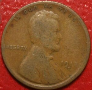 1918 S Lincoln Wheat Cent Penny