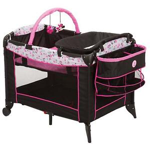 Disney Baby Minnie Mouse Sweet Wonder Play Yard with Carry Bag Playpen 3DAYSHIP 689744315474