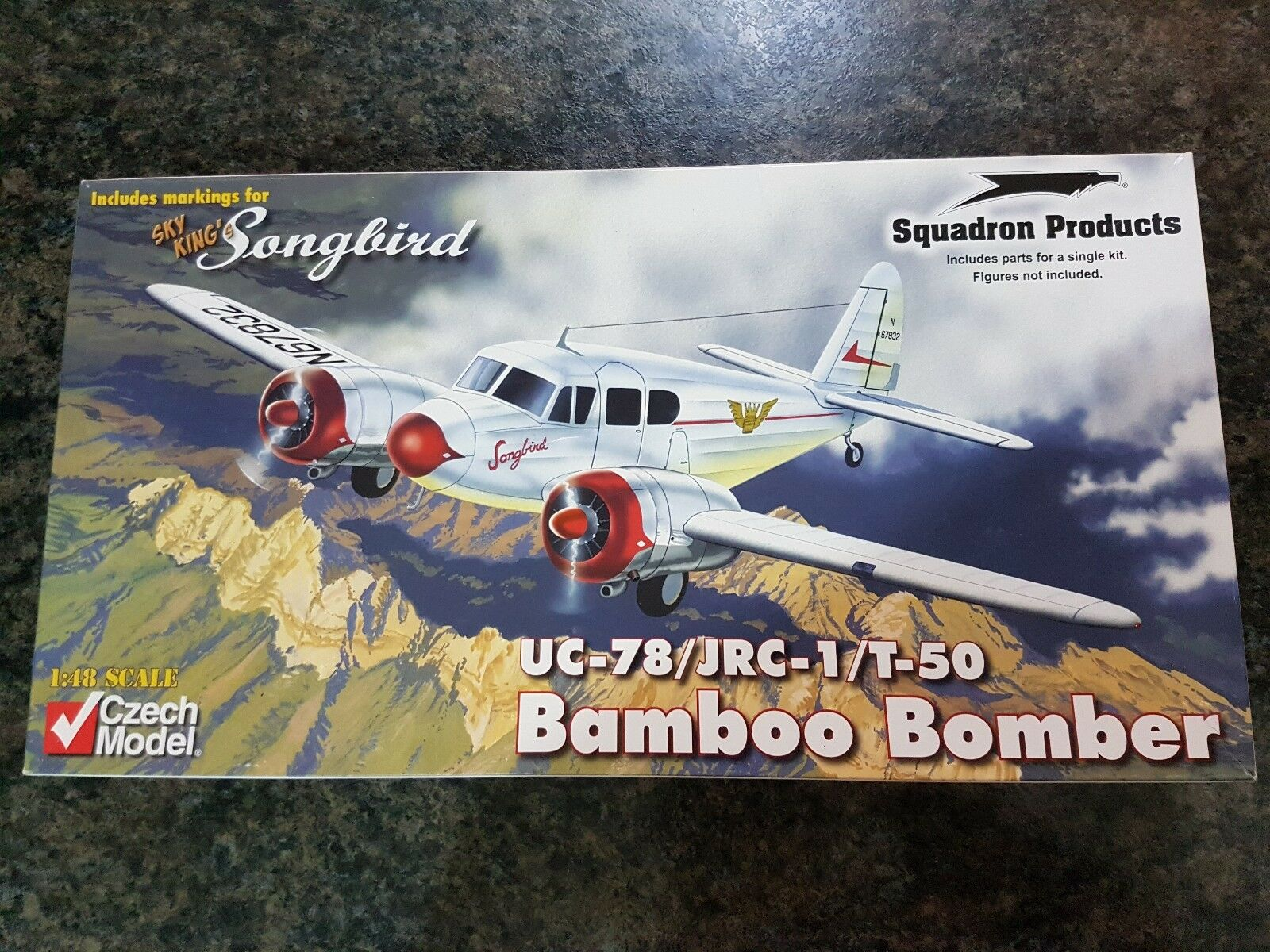 Czech Model 1 48 UC-78 T-50 Bamboo Bomber Songbird Great Condition Very Rare