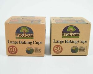 If You Care 6 X 1 X 60 Large Baking Cups