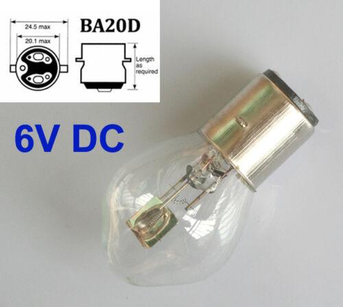 2pcs BULB 6V 35//35W BA20D S2 CAR LIGHT LAMP HEADLIGHT FRONT PROJECTOR MOTORCYCLE