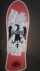 "Santa Cruz replica Skateboard Deck Shaped Sticker over  7/"""