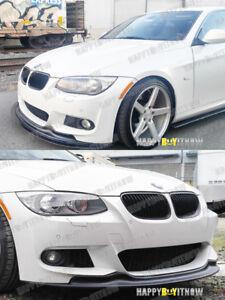 10-12 UNPAINTED BMW E92 E93 LCI M-SPORT M-TECK AK type FRONT BUMPER LIP SPOILER