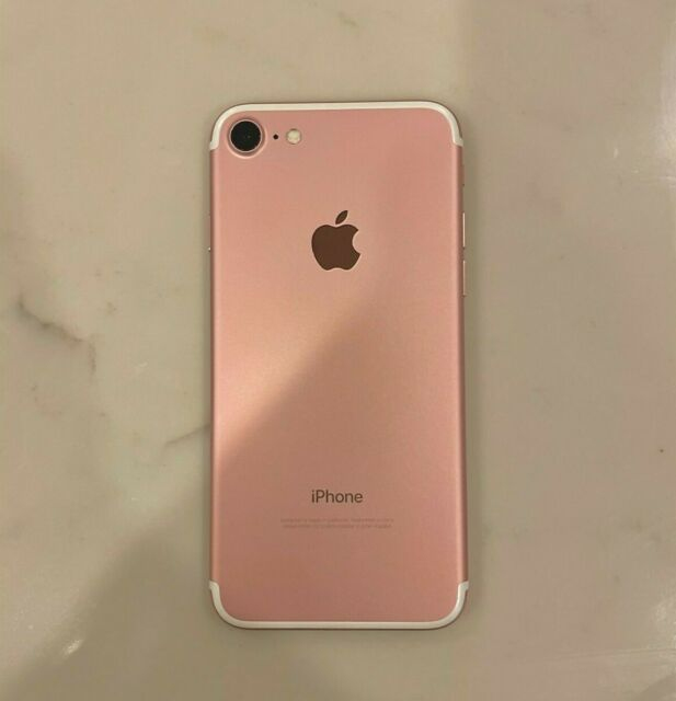 Apple iPhone 7 - 128GB - Rose Gold (Unlocked) A1778 (GSM)
