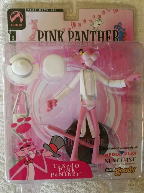 Pink Panther White Tuxedo Action Figure Series One Palisades 2004 Sealed
