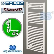 3S SCALDASALVIETTE TERMOARREDO CURVO BIANCO 120x45 interasse 40 cm TEKNO ERCOS