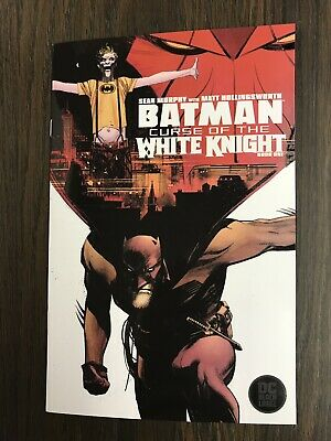BATMAN CURSE OF THE WHITE KNIGHT #1 DC Comics 1st Print NM Bagged /& Boarded