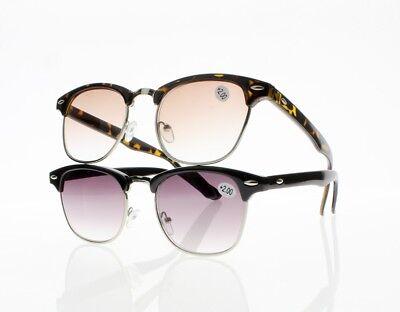 Tortoise Retro Horned Rim Angled Clear Lens Eye Glasses Gold Half Frame S201