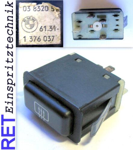 Interrupteur Vitres Chauffage 1376037 BMW 3 Il E 30 Original