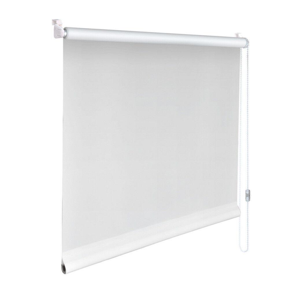 Mini-Rollo Klemmfix Klemmrollo Easyfix Abdunkelung - Höhe 190 cm weiß | Neu