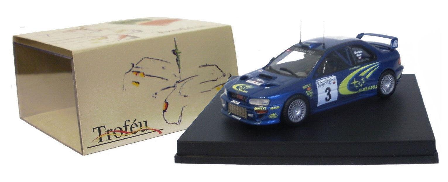 Trofeu 1119 SUBARU IMPREZA WRC 2000 GAGNANTE RALLYE ARGENTINE 2000-R Burns 1   43