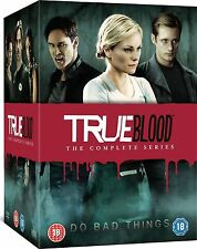 TRUE BLOOD SEASONS 1-7 COMPLETE DVD BOXSET NEW AND SEALED SERIES 1 2 3 4 5 5 6 7