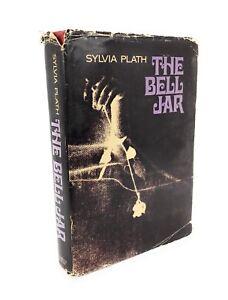 THE-BELL-JAR-by-SYLVIA-PLATH-1971-Book-Club-Edition-HC-w-DJ-NOVEL-DEPRESSION