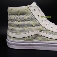 Vans Sk8 Hi Slim Frayed Native Men's Skate Shoes S7510.236