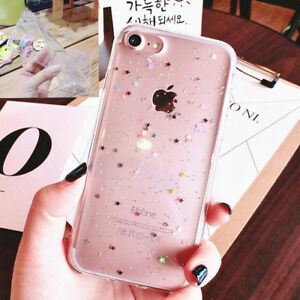 Luxury-Bling-Glitter-Souple-Antichoc-Silicone-Coque-Housse-Pour-iPhone-XS-7-8-6S