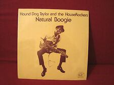 HOUND DOG TAYLOR &THE HOUSE ROCKERS NATURAL BOOGIE RARE SEALED ORIGINAL BLUES LP