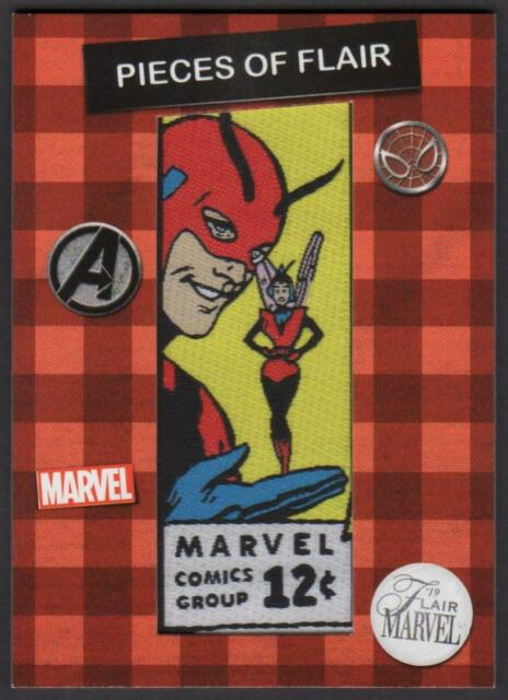 2019 Flair Marvel Pieces of Flair Comic Corner Patches #POF3 Tales to Astonish