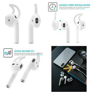 sale retailer d60ca e8afa Details about Earbuddyz 2.0 Airpods And Earpods Covers And Hooks Attachment  For Iphone E