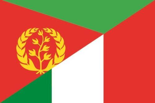 Italien Flagge Fahne 8 x 5 cm Autoaufkleber Sticker Aufkleber Eritrea