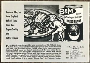 1950-B-amp-M-Baked-Beans-PRINT-AD-New-England-Brick-Oven-Portland-Maine