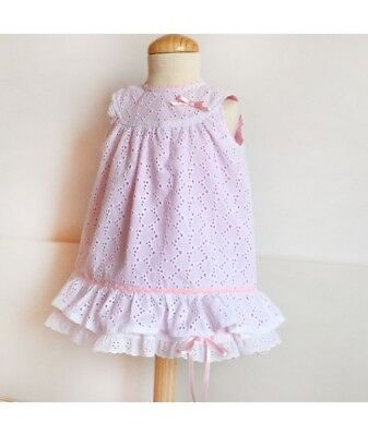 PAPER SEWING PATTERN Back Bow Sash Summer DRESS Baby girl toddler spanish style