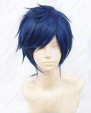 NEW Rei Ryugazaki Short Blue Black mix Cosplay Wig