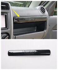1*ABS Car co-pilot storage box decorative trim for Suzuki Jimny 2012-2015 Black