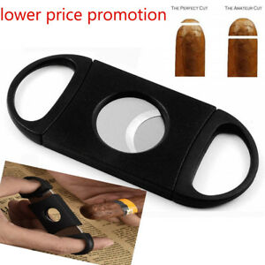 Cigar-Cutter-Stainless-Steel-Double-Blades-Guillotine-Knife-Pocket-Scissors