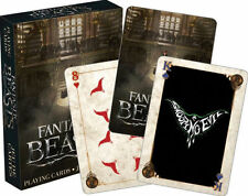Fantastic Beasts Playing Cards Movie Harry Potter Poker Deck New Sealed Mint