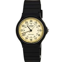 Deals on Casio MQ24-9B Men's Resin Band Casual Analog Watch