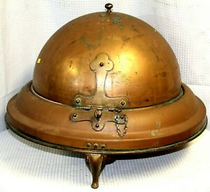 Large-Copper-Covered-Server-with-Sterno-Cup-Holders-c-1930-1950