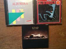 Al Di Meola [3 CD Alben] ZOUNDS Best of + Flesh on Flesh + Electric Rendezvous