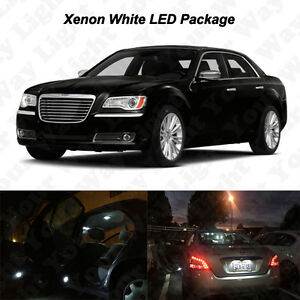 Image Is Loading 16 X White Led Interior Bulbs License Plate