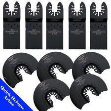 10 Saw Blade Oscillating Multi Tool Fein Craftsman Dewalt Porter Cable Rockwell