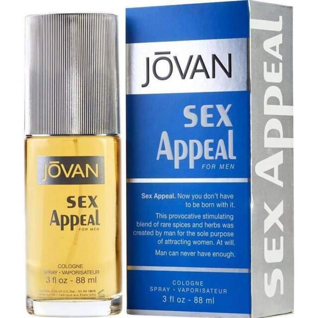 Jovan Sex Appeal 88Ml Edc Men
