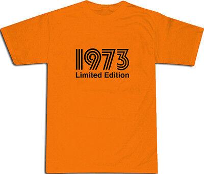 1973 Limited Edition Cool T-SHIRT S-XXL # Orange