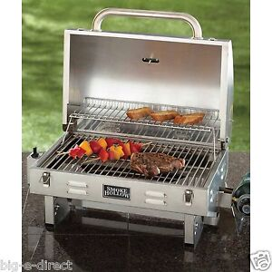 Smoke Hollow Stainless Steel Outdoor Tailgate Portable Bbq Propane Gas Grill Ebay
