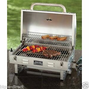 Image Is Loading Smoke Hollow Stainless Steel Outdoor Tailgate Amp Portable