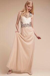 NWT $350 BHLDN Adrianna Papell Violetta Dress Size 4 Wedding Bridal Gown